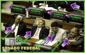 Enquanto isso no senado do Brasil