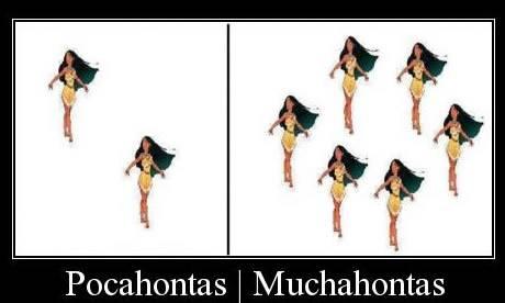 Pocahontas e Muchahontas