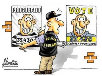 Diferença entre bandido e político...