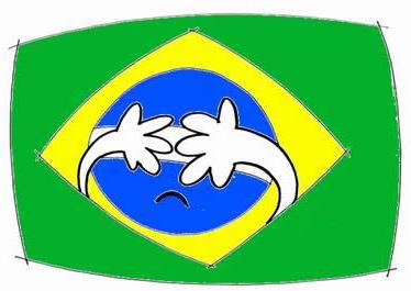 Vergonha brasileira em casa, perder pra Alemanha por 7x1 | Los Gifs
